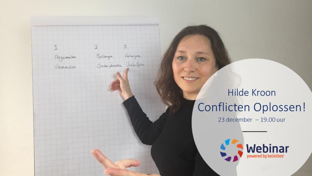 Hilde Kroon - Webinar Conlicten Oplossen!